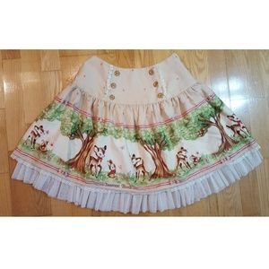1c95c07067b4f8 Innocent World Skirts - Innocent World Bambi Deer Otome Lolita Skirt